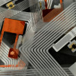 RFID tagy — Stock fotografie