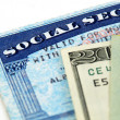 Stock Photo: Social security benefits