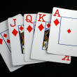 Playing cards — Stock fotografie