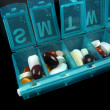 Pills and medicines — Stock Photo