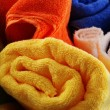 Bath towels - Stock Photo