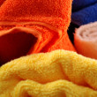 Bath towels — Stock Photo