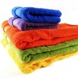 Stock Photo: Bath towels