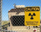 Radioactive materials — Stock Photo