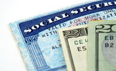 Social security benefits — Stock Photo