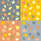 Autumnal Pattern — Stock Vector