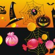 Royalty-Free Stock Vector Image: CandyHalloweenSet