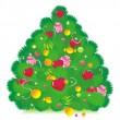 Royalty-Free Stock Vector Image: Candy fir