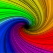Rainbow abstract background explosion - 图库照片