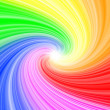 Rainbow abstract background explosion — Stock Photo