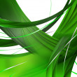 Abstract Green Composition — Stock Photo #2425202