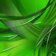 Abstract Green Composition — Stock Photo