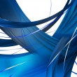Stock Photo: Abstract Blue Composition