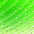 Abstract Green Drop Composition — Stock Photo