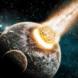 Earth apocalypse / armageddon — Stockfoto