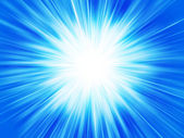 Blue abstract background star explosion — Stock Photo