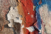 Grunge graffiti wall texture — Stock Photo