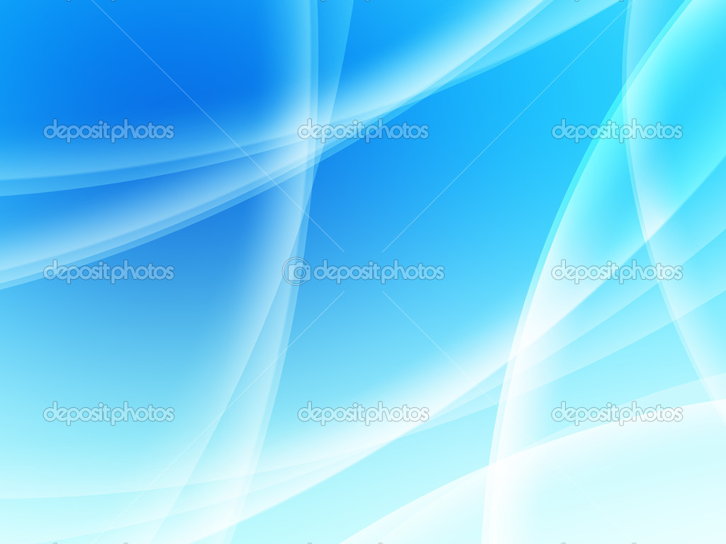 Abstract composition with curves, lines, gradients blue  — Stock Photo #2425789