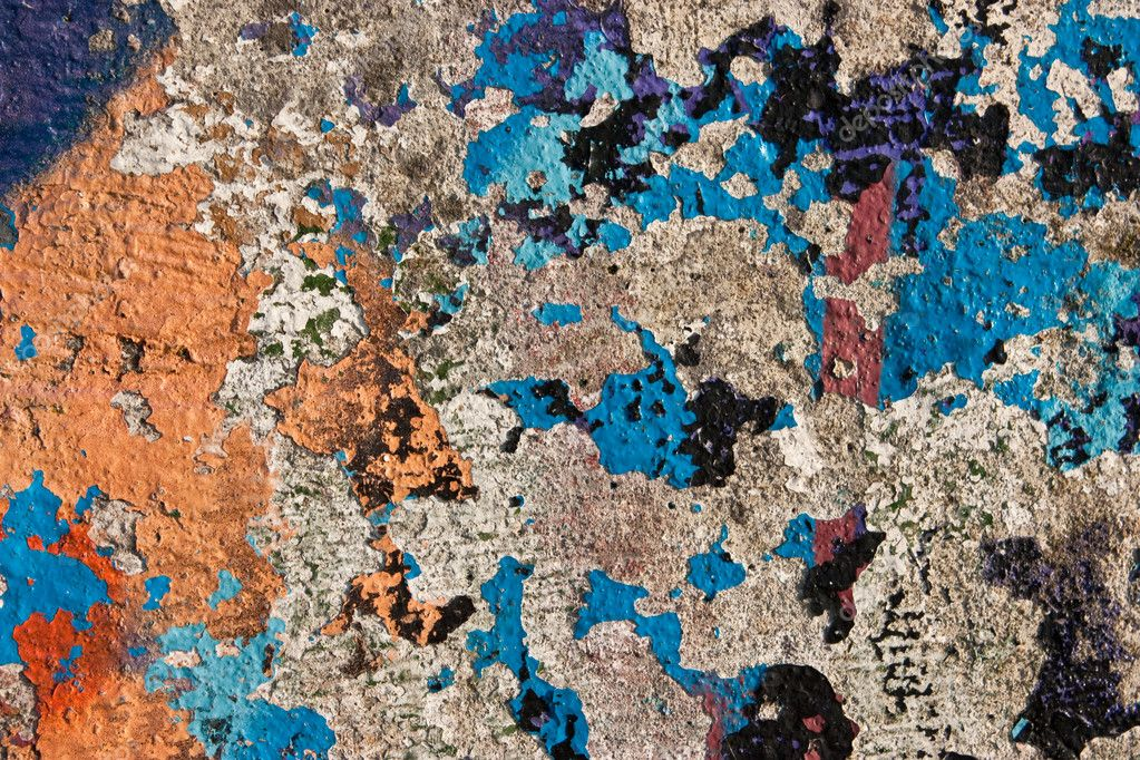 Grunge Graffiti Wall Texture Stock Photo Sdecoret 2426936