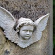 Little stone angel — Stock Photo