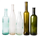 Empty bottles — Stock Photo