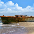 Royalty-Free Stock Photo: Old crashed ship