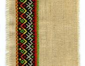 Fabric, pattern, embroidery — Stock Photo