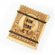 US Postage Stamp - Stock Photo