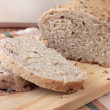 Sliced wholemeal bread with seeds — Stock Photo #2457876