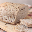 Sliced wholemeal bread with seeds — Stock Photo #2458003
