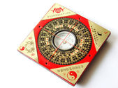 Feng shui compass — Stock Photo