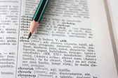 039;clever' word in dictionary — Stock Photo