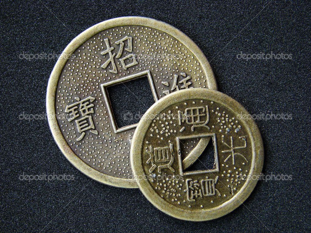 depositphotos 2464751 Chinese feng shui coins Feng Shui Way Should My Bed Face