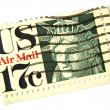 Stock Photo: US postage stamp