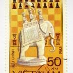 Vietnam postage stamp with elephant — Stock Photo #2525681