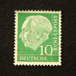 Stock Photo: Germany postage stamp