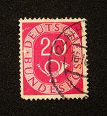 Почтовая марка Германии — Стоковое фото
