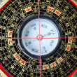 Feng shui compass - Stock Photo