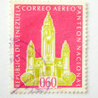 Venezuela postage stamp - Stock Photo