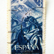 Spain postage stamp - Stock Photo