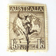 Australia postage stamp - Stock Photo