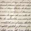 Old Manuscript background - Stock Photo