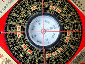 Feng shui compass — Stock Photo