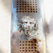 Lion door bell — Stock Photo