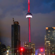 Stock Photo: CN Tower Downtown Toronto
