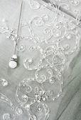 Pin e velo da sposa — Foto Stock