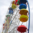 Attraction the Big wheel — Stock Photo