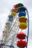Attraction the Big wheel — Foto Stock