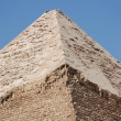 Great egyptian pyramid — Stock Photo