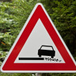 Stock Photo: Dangerous roadside